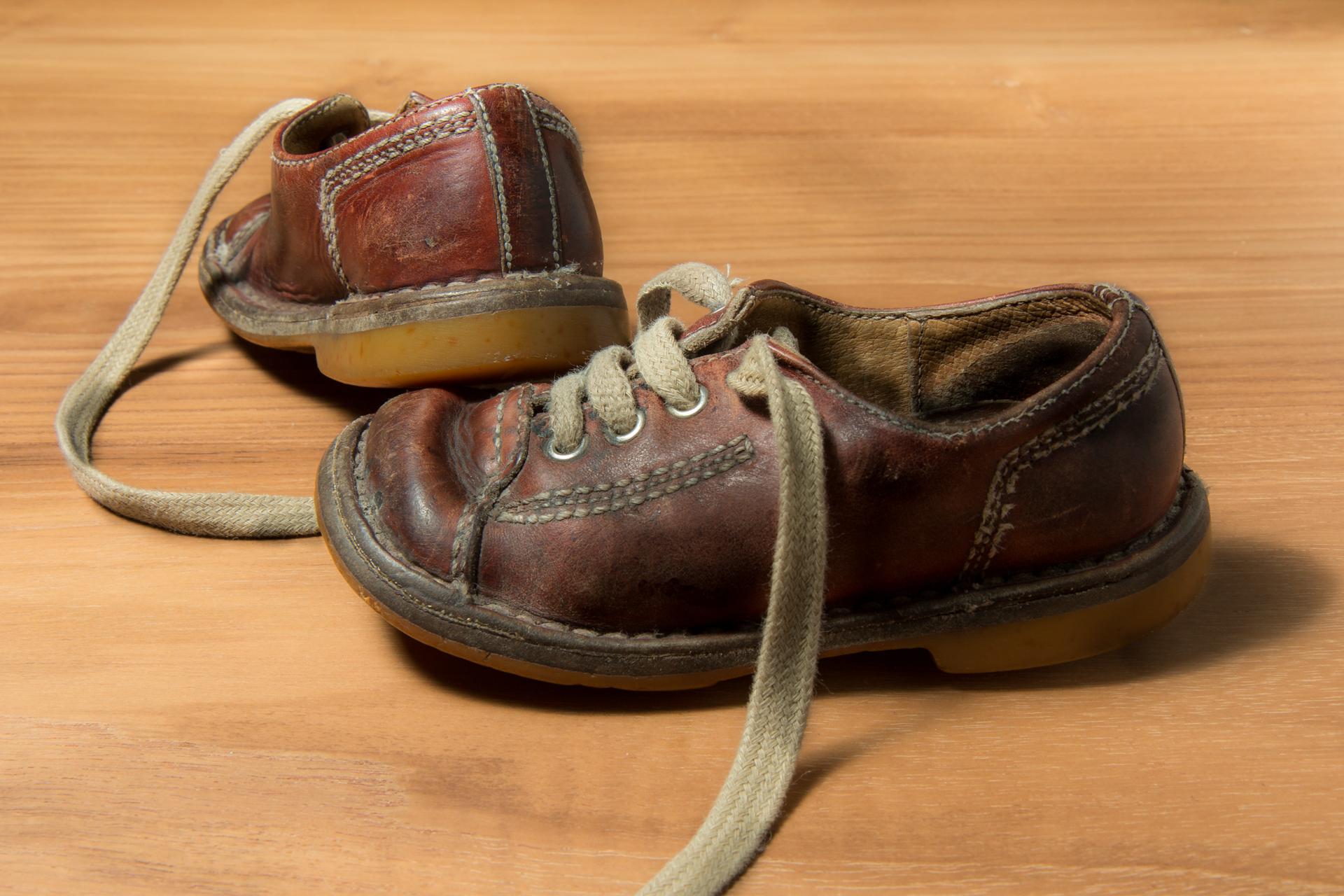 Bernard schilderij schoentjes