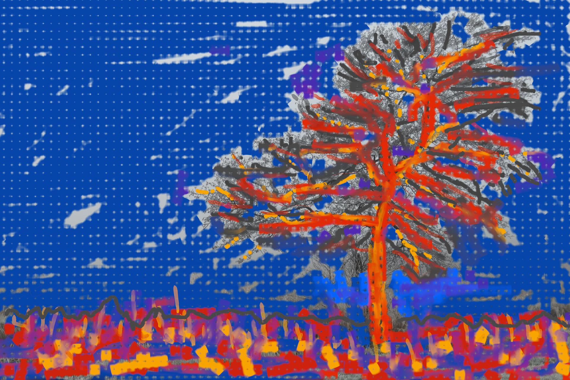 Boom van Piet Mondriaan MV